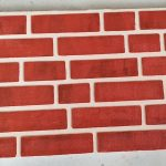 Panouri caramida aparenta de exterior TECHSTONE RED LUX - 100 x 50 x 5 cm
