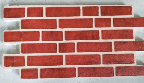 Panouri caramida aparenta de exterior TECHSTONE RED LUX - 100 x 50 x 5 cm - 2