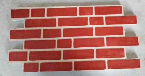 Panouri imitatie caramida exterior TECHSTONE RED CREM 100 x 50 x 5 cm