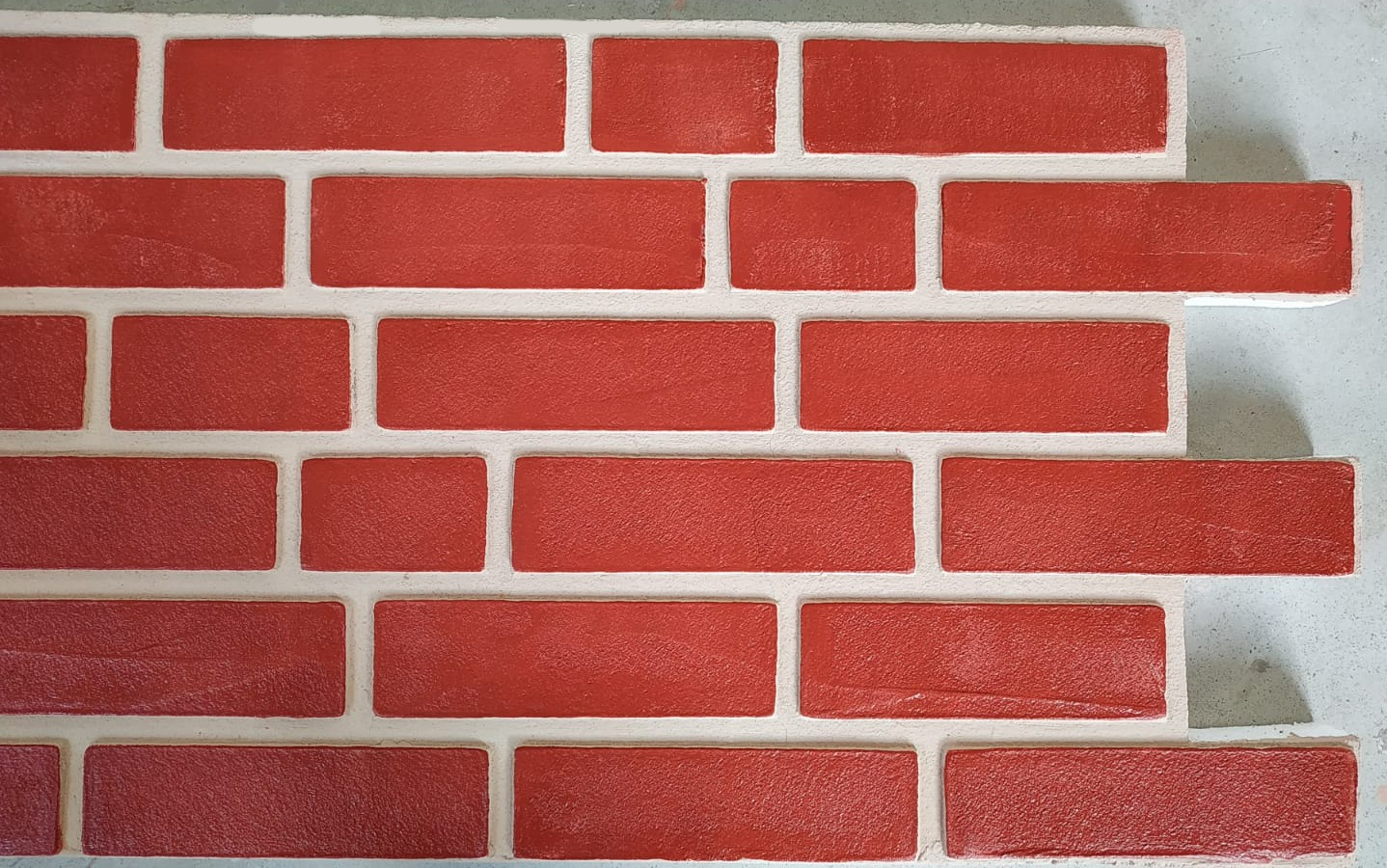 Panouri imitatie caramida exterior TECHSTONE RED CREM 100 x 50 x 5 cm - a