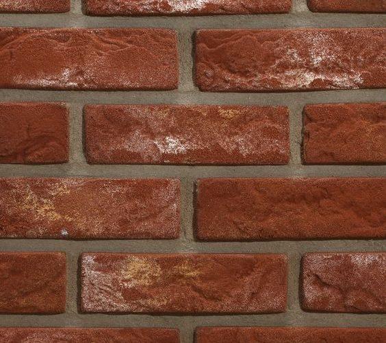 Caramida aparenta pentru fatade Techstone Medieval Red