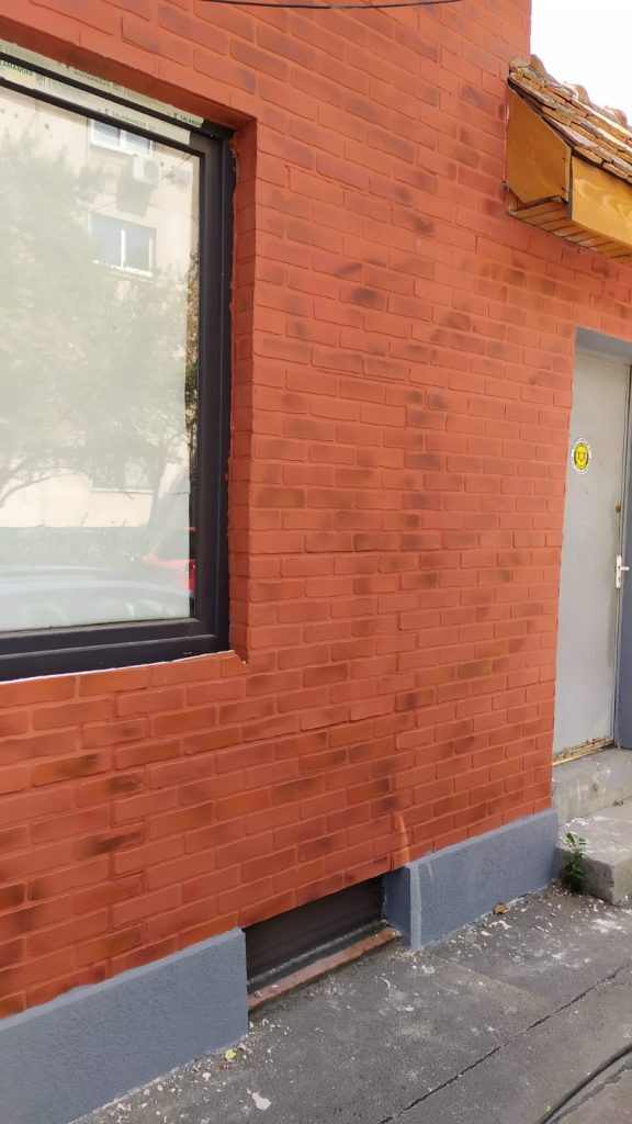 Caramida aparenta de exterior Techstone Mancester Red 2