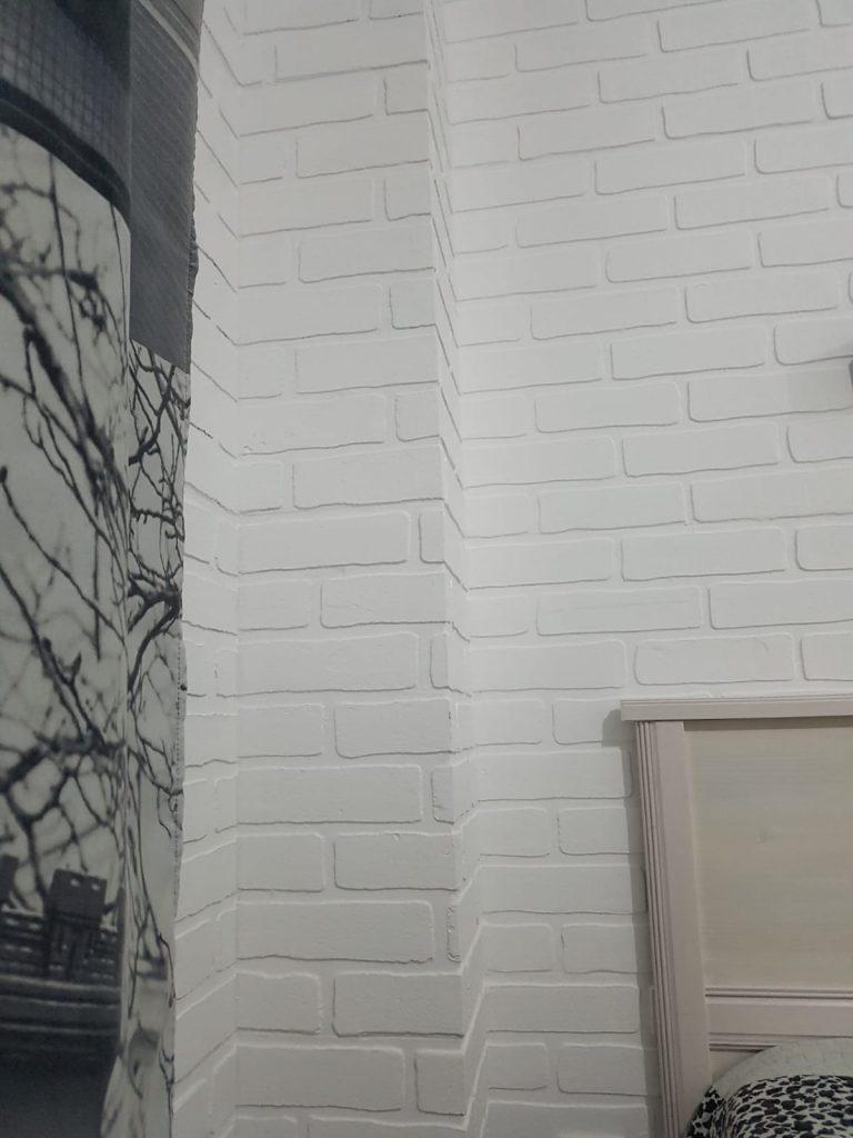 Panouri termoizolante decorative de interior Techstone White Imperial 8