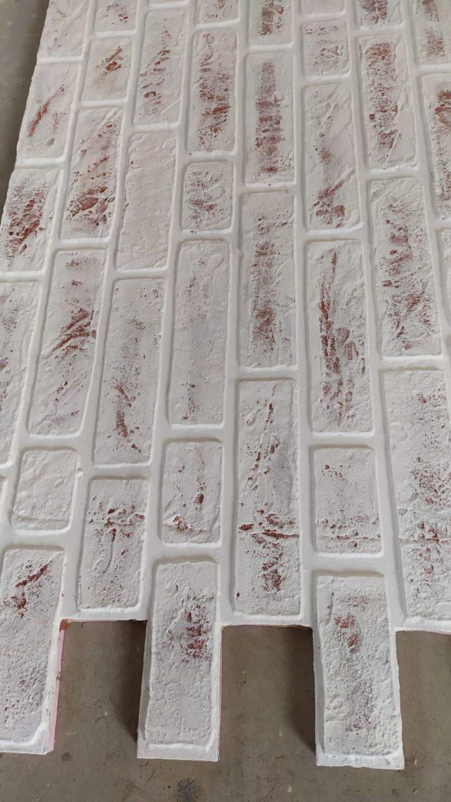 Panouri caramida aparenta de exterior TECHSTONE WHITE KIMERA 2
