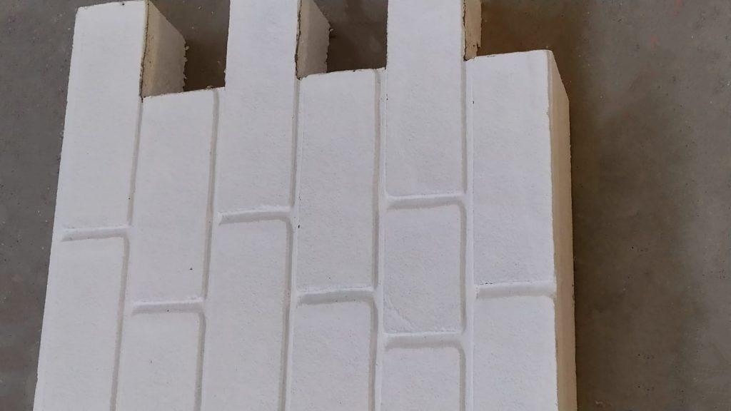 Termosistem caramida aparenta Techstone White Castle 2
